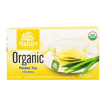 Load image into Gallery viewer, Nature Green Organic Pandan Leaves Tea 1g. (30 sachets)