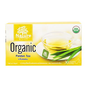 Nature Green Organic Pandan Leaves Tea 1g. (30 sachets)