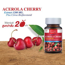 Load image into Gallery viewer, Real Elixir Acerola Cherry 1200 mg. 30 capsules 45g. (4 pcs.)