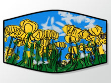 Load image into Gallery viewer, Yellow Tulips Face Mask