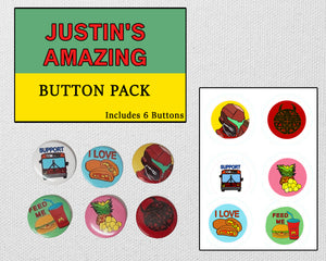 Justin's Button Pack