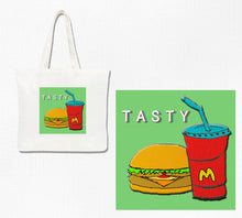 Load image into Gallery viewer, Justin's Tasty Tote