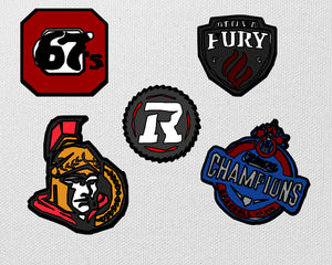 Ottawa Sports Magnets