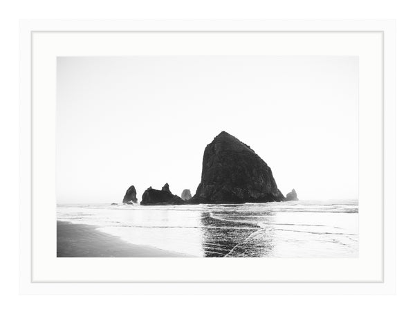 Cannon Beach B&W