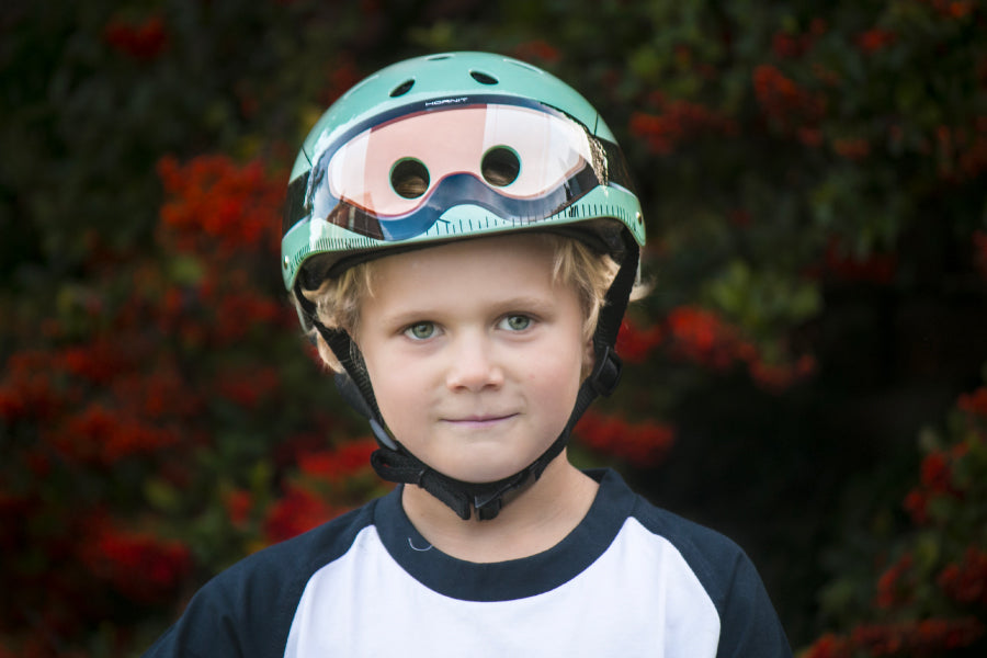 How do I find out my kids helmet size?