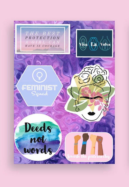 Feminist Stickers The Purple Sheet
