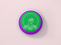 Fist Power Badge