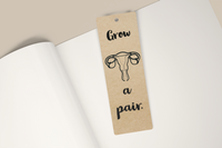 Uterus Bookmark