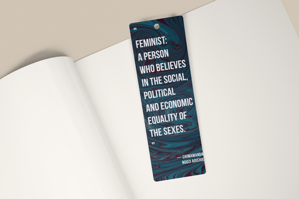 Chimamanda Ngozi Adichie Feminist Quote Bookmark