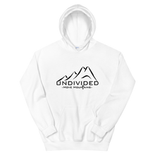 Load image into Gallery viewer, Undivided White or Blue Unisex Hoodie