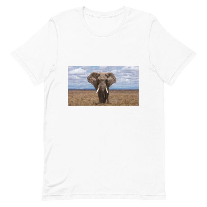 Space for Giants Elephant Short-Sleeve Unisex T-Shirt