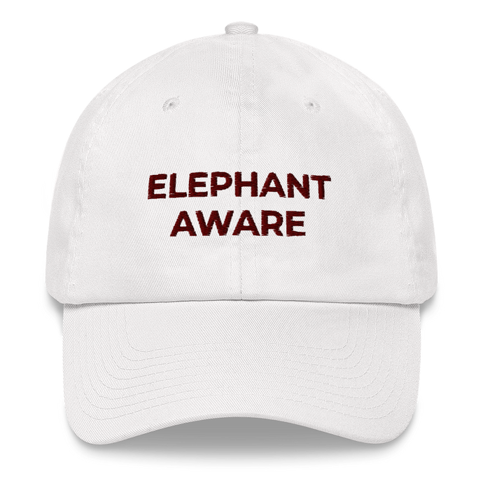 Elephant Aware Baseball Hat