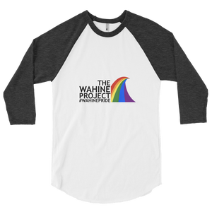 The Wahine Project 3/4 Sleeve Raglan Shirt