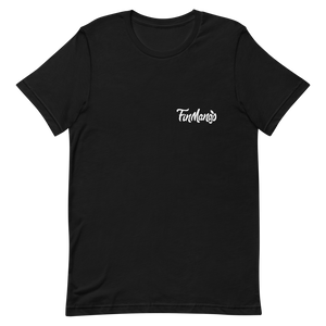 FinMango Short-Sleeve Unisex Black T-Shirt