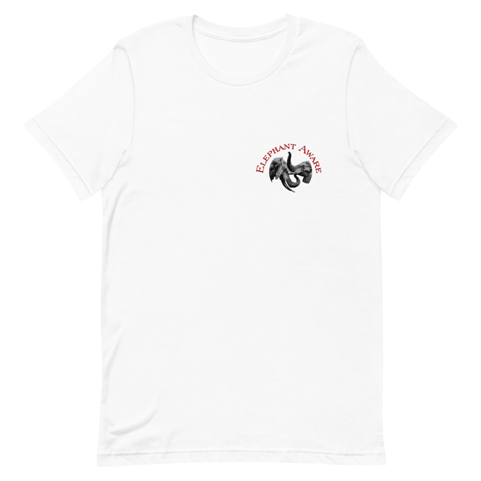 Elephant Aware Short-Sleeve Unisex T-Shirt