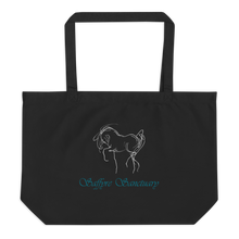 Load image into Gallery viewer, Saffyre Sanctuary Large Organic Tote Bag
