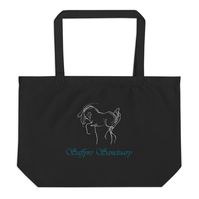 Saffyre Sanctuary Large Organic Tote Bag