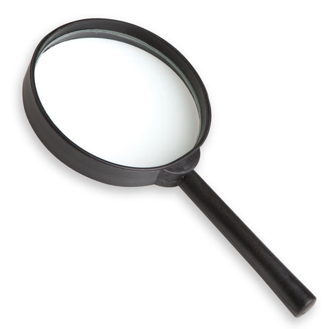 "3"" Round Magnifier - 4x magnification"