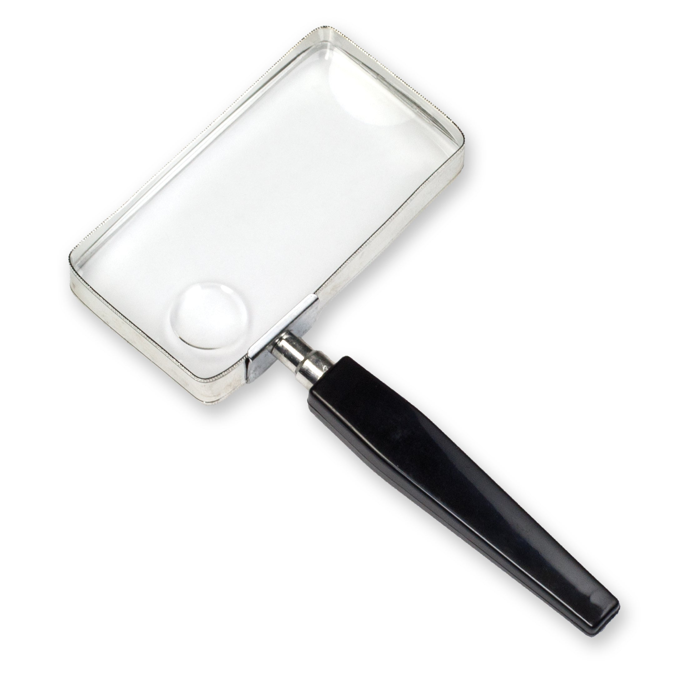 "2"" x 4"" Rectangular Magnifier (2.5x) with 5x Bifocal"