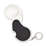 Keychain Magnifier with LED
