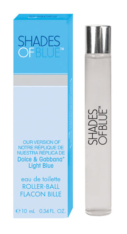 Shades of Blue, Our Version of Dolce & Gabbana* Light Blue Roller-Ball Eau de Toilette