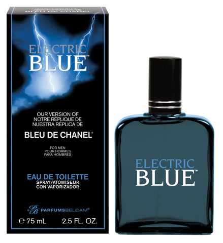 Electric Blue Eau de Toilette Spray, version of Bleu de Chanel*