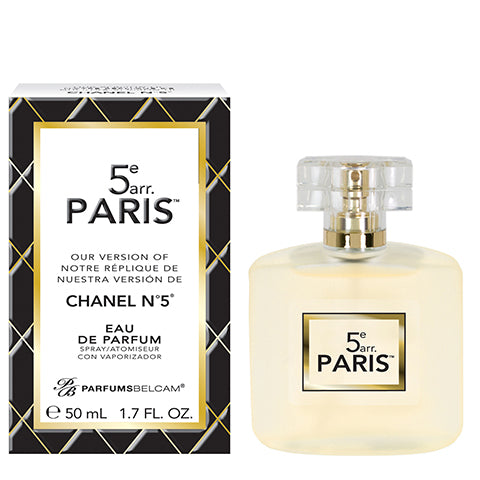 5e arr. Paris Eau de Parfum Spray, version of Chanel No.5*