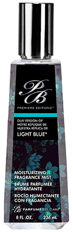 PB Premiere Editions Moisturizing Fragrance Mist, version of Light Blue*