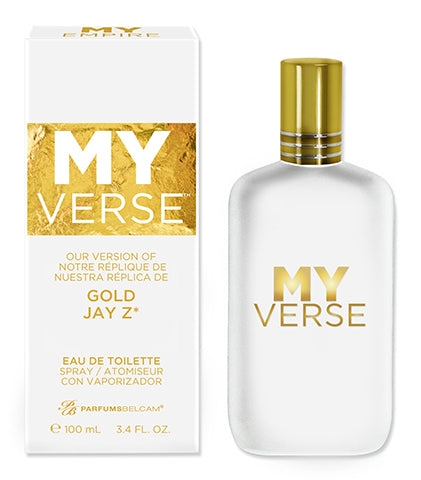 My Verse Eau de Toilette Spray, version of Gold Jay Z*