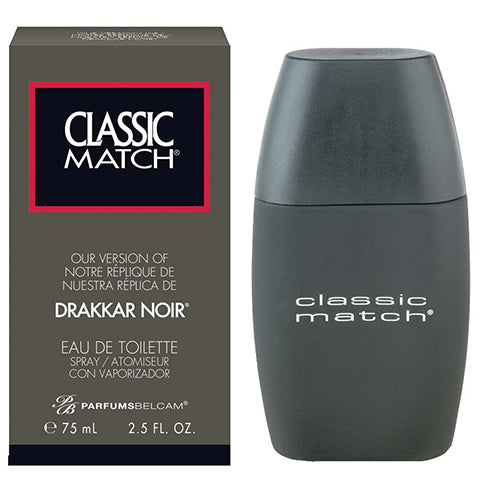 Classic Match Eau de Toilette Spray, version of Drakkar Noir*