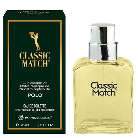 Classic Match Eau de Toilette Spray, version of Polo*