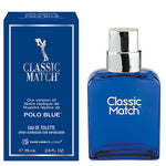 Classic Match Eau de Toilette Spray, version of Polo Blue*