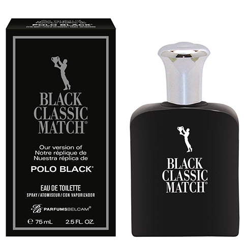 Black Classic Match Eau de Toilette Spray, version of Polo Black*