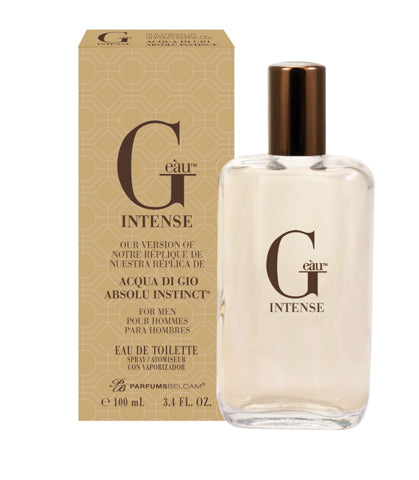 G eàu Intense Eau de Toilette Vaporisateur, version Acqua Di Gio Absolu Instinct *