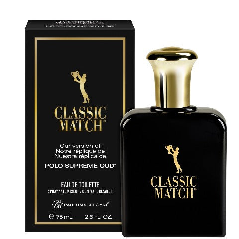 Classic Match Eau de Toilette Spray, version of Polo Supreme Oud*