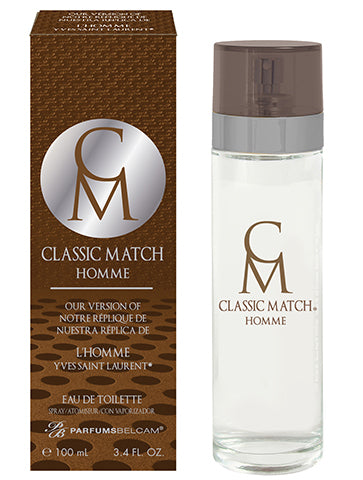 Classic Match Homme Eau de Toilette Spray, version of L'Homme* YSL