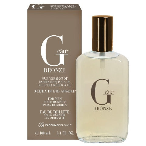 G eàu Bronze Eau de Toilette Spray, version of Acqua Di Gio Absolu*