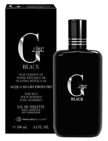 G eàu Black Eau de Toilette Spray, version of Acqua Di Gio Profumo*