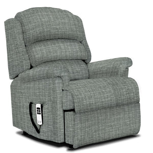 Small Fabric Riser Recliner
