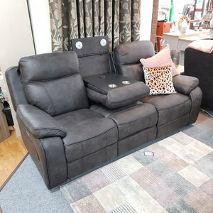 Tech Electric Reclining 3 Seater Sofa