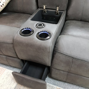 Tech Electric Reclining Corner Sofa