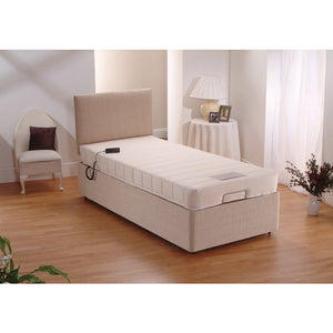 Single Mobility Electrically Adjustable Memory Foam Bed