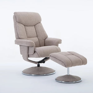 Swivel Chair & Footstool