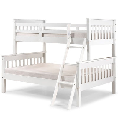White Wooden Triple Sleeper