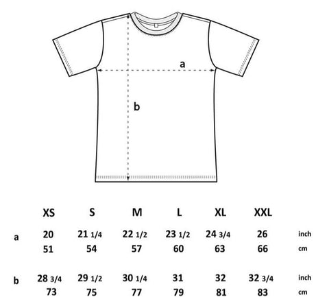 Oversized T-Shirt Size Guide