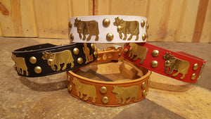 "1 3/4"" Large Traditional Swiss Dog Collar"