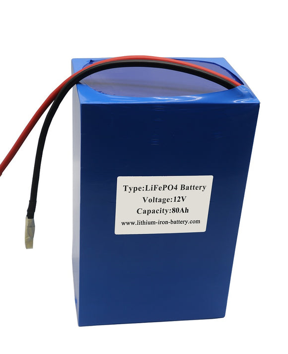 12V LiFePO4 Battery With Inbuilt BMS