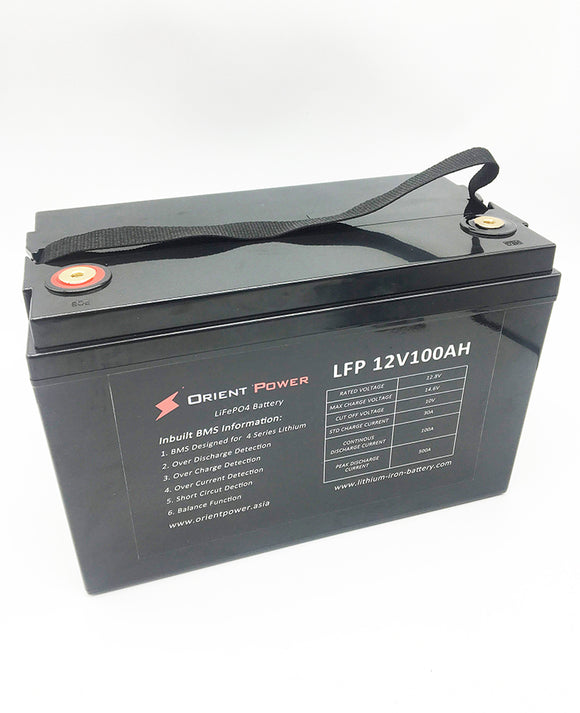 12volt 100ah lithium lifepo4 battery