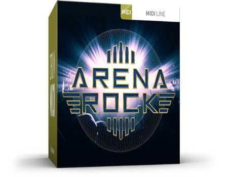 ARENA ROCK DRUM MIDI