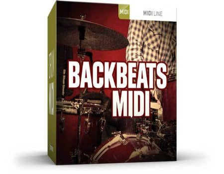 BACKBEATS DRUM MIDI